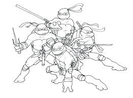 Free Printable Turtle Coloring Pages Teenage Mutant Ninja Turtle