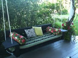 porch swing outdoor patio furniture stained wooden   foot porch swing porch designs best outdoor porch swings designs