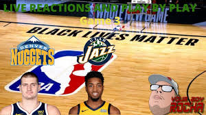 Denver Nuggets vs Utah Jazz Live Reactions And Play By Play(Game 4) -  YouTube