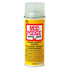 Mod Podge 12 oz Matte Acrylic Sealer 1469 The Home Depot