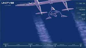 Virgin Galactic space flight ...