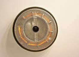 bathroom ceiling fan heater light round shaped bath fans