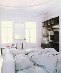 Parisian Apartment Soft White Cotton Bedding With Fireplace