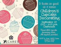 psd kids flyer templates children s cupcake decorating psd kids flyer templates children s cupcake decorating