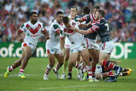 rugby league round 8 saints v roosters anzac game