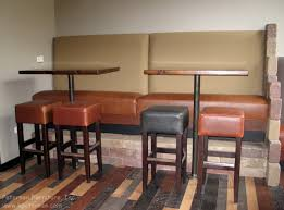 counter height banquette. Fine Banquette Restaurant Booth Banquette Bar Height For Counter