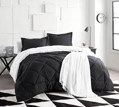 Black Sheets White Comforter