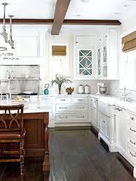 white kitchen lake cottage ideas