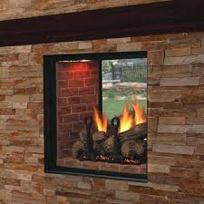 see thru fireplace marquis clear view see through direct vent fireplace fireplace tv stand