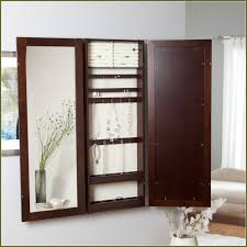 Diy Jewelry Cabinet Diy Wall Mount Jewelry Cabinet Home Design Ideas