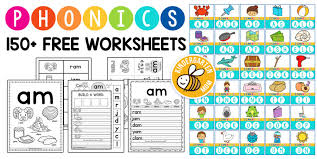 Free downloadable and printable worksheets! Freephonicsworksheets 1024 514 Phonics Worksheets Kindergarten Mom Marvelous Blending Jaimie Bleck