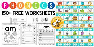 Kindergarten reading comprehension worksheets & printables. Phonics Worksheets Kindergarten Mom
