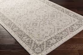 10 oval rug surya castille ctl 2000 light grey charcoal ivory taupe