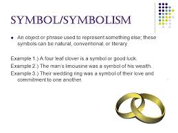 literary terms project by krystal hernandez syllogism a  4 symbol symbolism