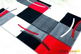red grey rug red black gray rug red and gray rug red and grey rug area
