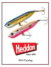 Heddon Lucky 13 Color Chart Heddon Catalogo 2014 Ingles By Johnny Larri Issuu