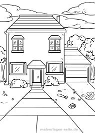 Kleurplaat Huis Gratis Kleurpaginas Om Te Downloaden