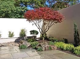 Stock Photographs Of Rock Garden  An Ordinary Japanese Backyard Japanese Backyard Garden