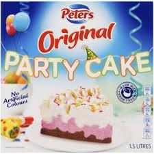 Peters Original Party Cake Ice Cream Coles Online