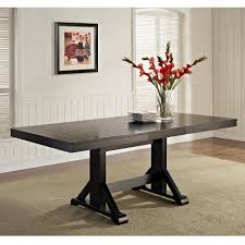walker edison furniture company millwright black extendable dining table black wood dining table e20