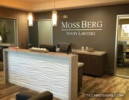office reception decor. Cozy Office Reception Desk Design : 6688 Area Logos Dimensional Wall Logo Decor F
