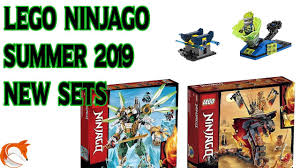 LEGO Ninjago 2019 NEW Summer Sets - Sneak Peak Leaked - YouTube