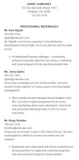 Professional Reference Sheet Template Beauteous Matching Resumes