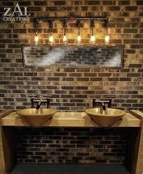 industrial bathroom vanity lighting. Rustic Bathroom Vanity Lights Light Fixtures O Vanities Inside Stunning . Industrial Lighting R