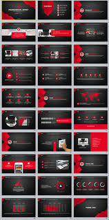 30 Red Black Business Powerpoint Templates