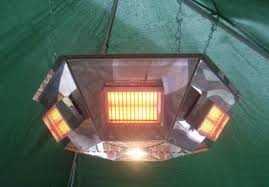 Pendant Gazebo Heater With Light Leisure Heating Pendant Heater 6 Sided 3kw Version With