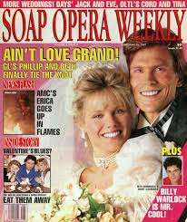 Guiding Light Soap Opera Book Soap Opera Weekly Cover February 19 1991