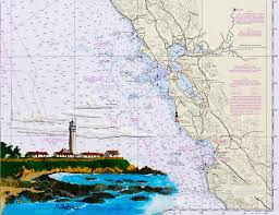 Noaa Navigation Charts Pigeon Point Lighthouse On Noaa Nautical Chart