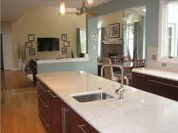 image of river white granite countertops