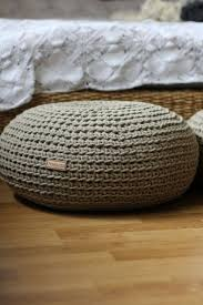 Sustainable Linen Pouf, filled with Organic Buckwheat Hulls, yoga pillow,  meditation cushion,