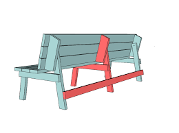 How To Build A Picnic Table Bench  EBayHow To Make Picnic Bench
