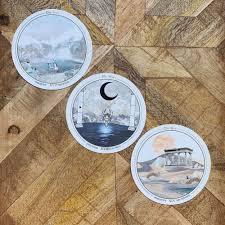 Accurate AF Tarot | Phoenix & Lotus in 2020 | Tarot, Tarot decks, Christmas  cards handmade