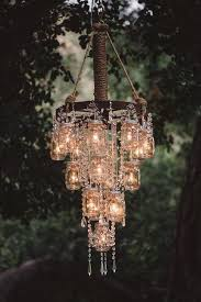 rustic outdoor candle chandelier unique super cool diy outdoor chandeliers you need to see pics