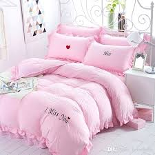 decoration hot pink duvet cover with com double