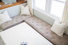 Amazon Tufted Wool Filled Bench Cushion Fits IKEA Kallax
