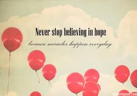 Miracle Quotes Inspiration Miracle Never Lose Hope