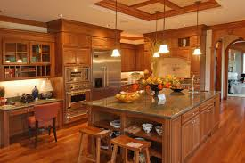 kitchen wooden furniture. Luxury Kitchen With Wooden Furniture And Island (click To Enlarge) D