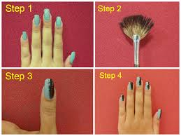 FAN BRUSH Striped Nail Art Tutorial YouTube. Gradient From Head To ...
