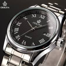online get cheap chinese watches for men aliexpress com alibaba simple fashion business dress watches men date display analog quartz mens watch chinese brand orkina clocks