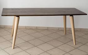 Tisch Aus Mit Epoxidharz Behandeltem Briccola Holz Madeinitalyde