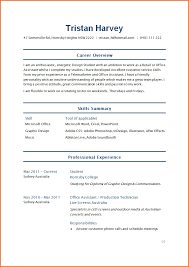 Examples Of Resumes Sample Resume Basic College Students No