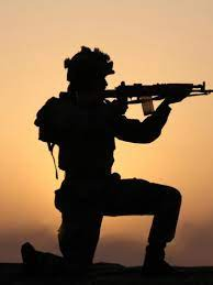 1620x2160 Indian Army Soldier With Gun ...