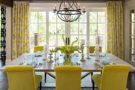 yellow dining chairs design ideas