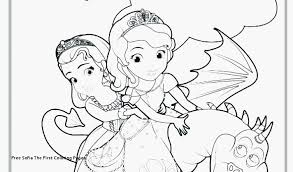 Prinses Sofia Kleurplaat Afbeelding Princess Sofia Coloring Pages