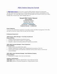 Best Of Resume Format For Mba Application Free Cv Samples In Word