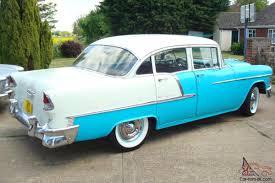 1955 CHEVROLET BELAIR 283/V8 MANUAL 4-DOOR...CHEAP